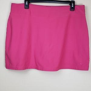 Nike pink golf/tennis skort